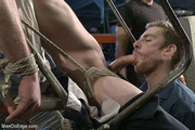 Giant Cock Straight Stud Edged