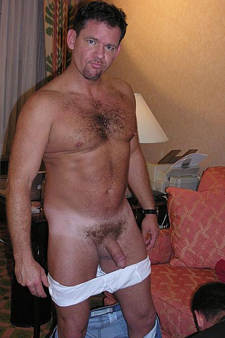 Straight men york naked New