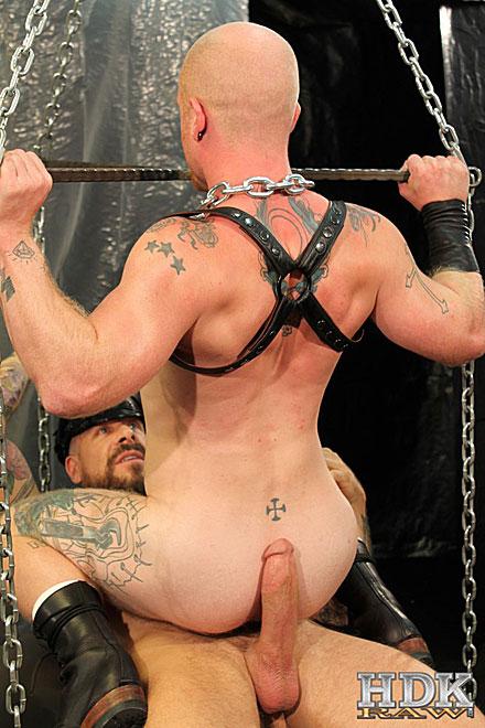 Rocco steele penetrates brock rustin raw