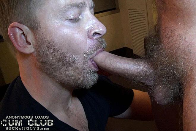 str8 man uncut dick gets gay blojob