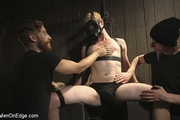 Edging the Captive Straight Boy