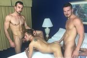 Alex, Kyle & Mason Bareback in Charlotte