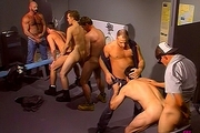 Truck Stop Cock Orgy In The Mensroom