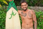 Hawaiian Surfer Kimo