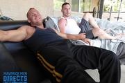 Muscle Daddy Fucks Ass